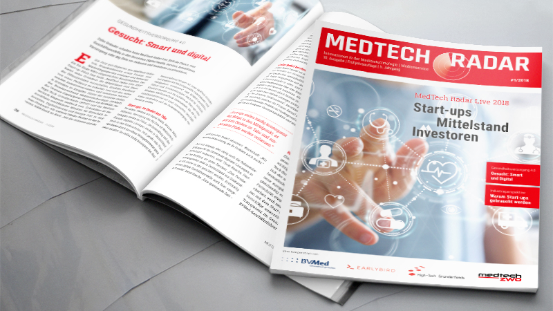 10. Ausgabe des MedTech Radar mit Fokus auf Start-up Pitch Day